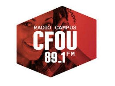 Drê-D de passage à la radio CFOU