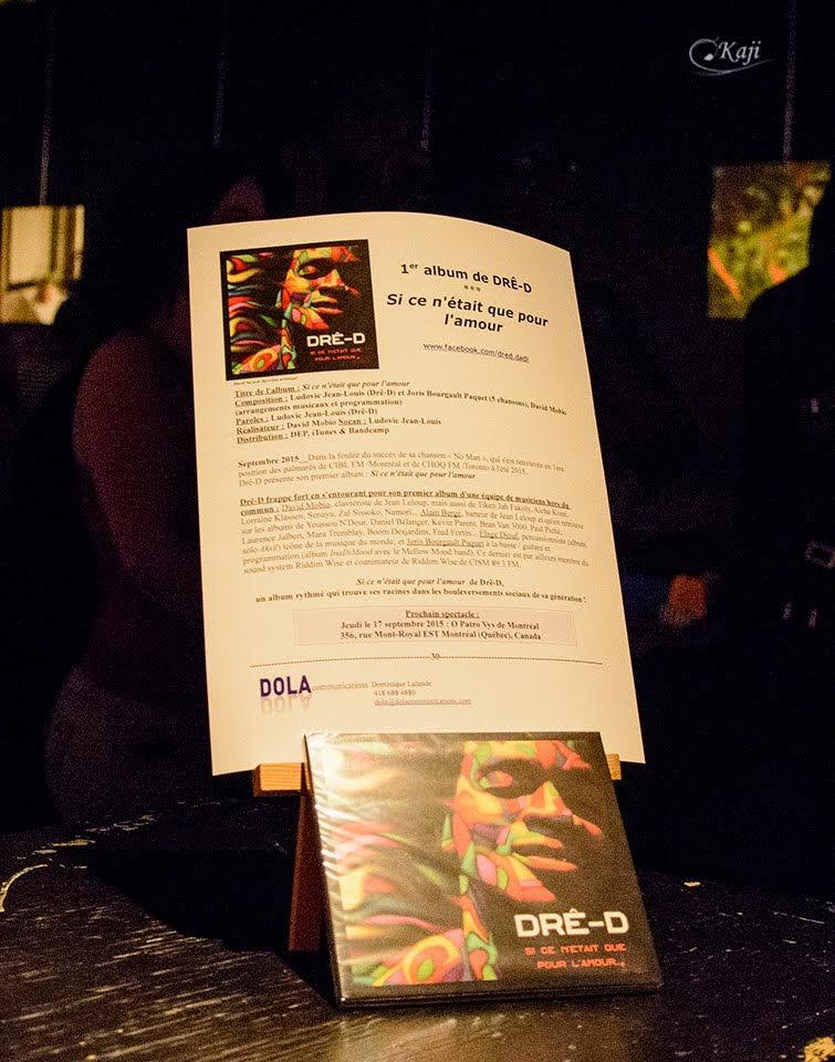 Lancement Album Gallery Cover | Dre-D