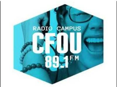 No man # 1 à CFOU FM